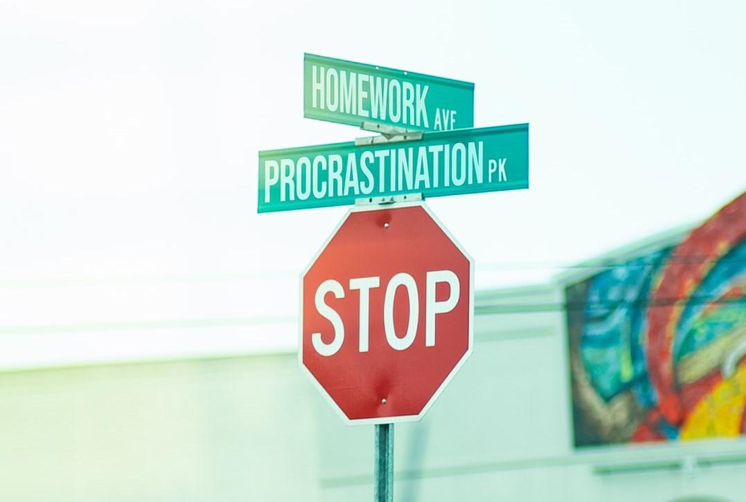Procrastination Sign   Goodwill Car Donations