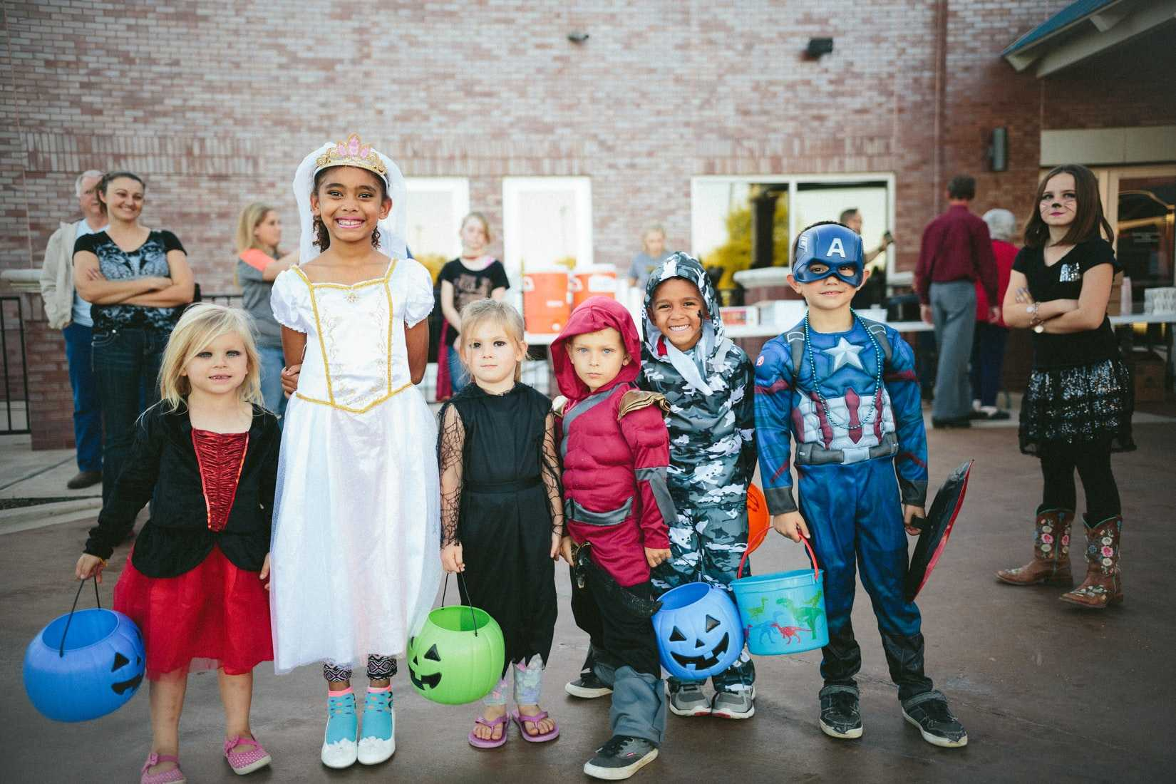 Kids Dressed Up for Halloween | Goodwill Car Donations
