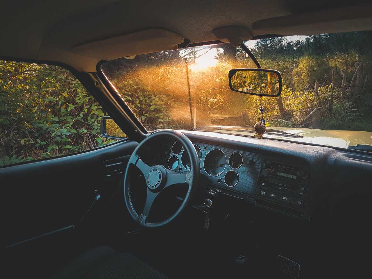 Inside an Old Car | Goodwill Car Donations