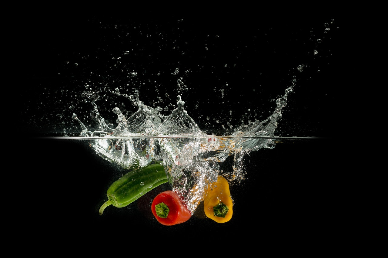 Bell Peppers Dropped on Water | Goodwill Car Donations