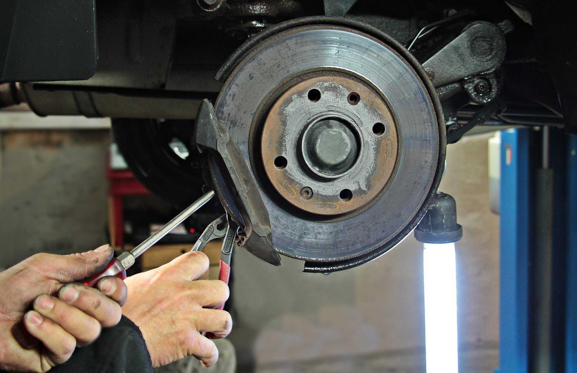 Fixing Car Brake Disc   Goodwill Car Donations