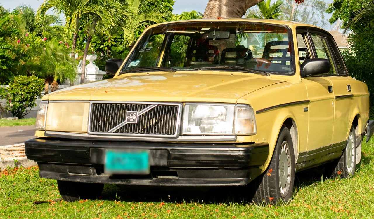 Yellow Classic Car | Goodwill Car Donations